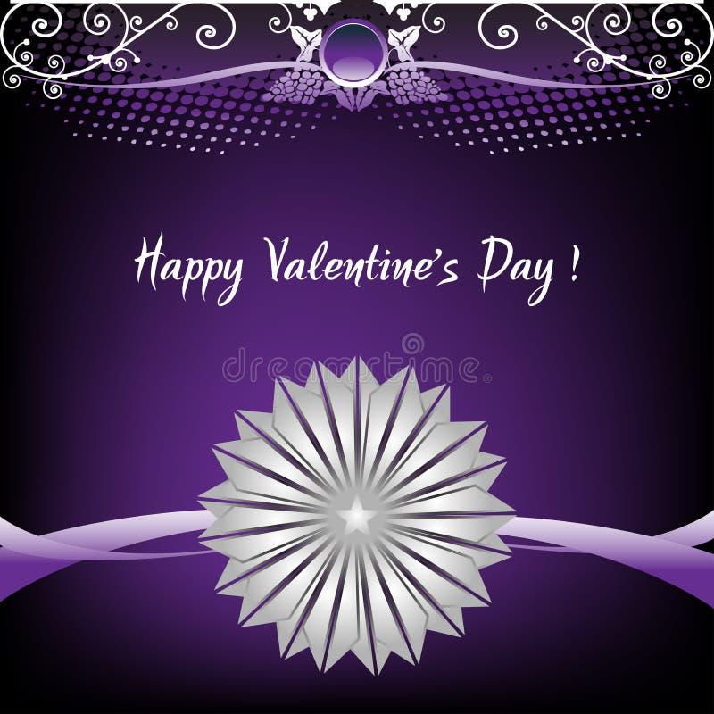 Valentine Day card stock photo