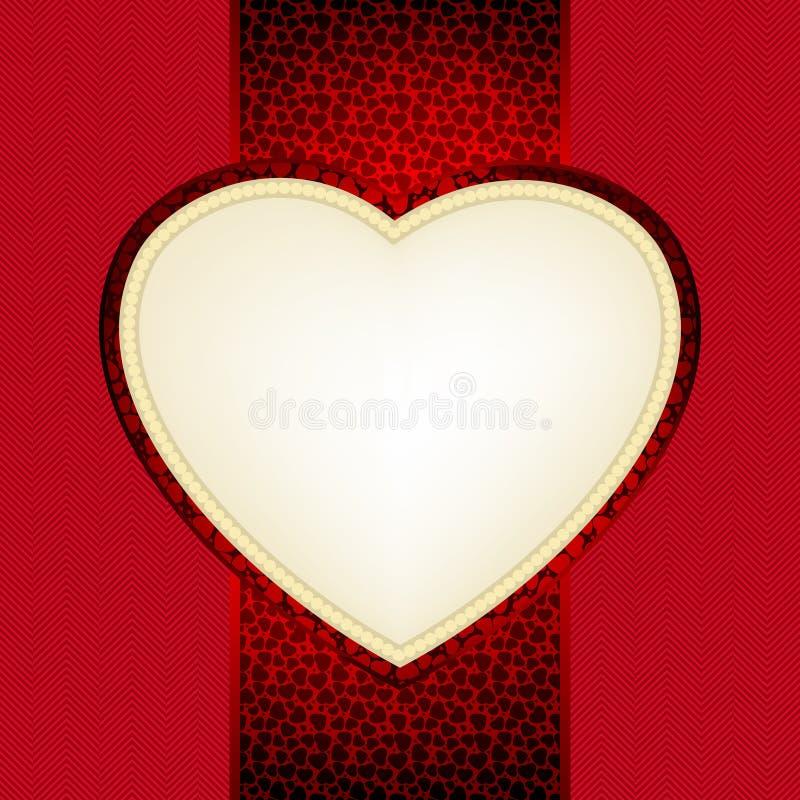 Valentine day card. EPS 8 royalty free illustration