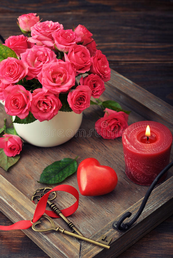 Valentine Day Concept Stock Photo