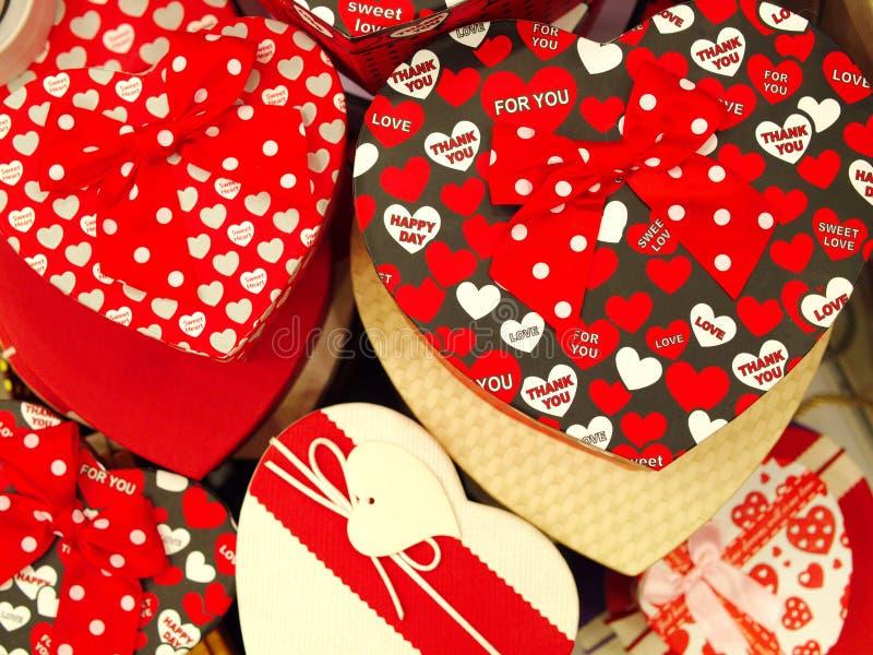 Valentine Day Gift arkivfoton
