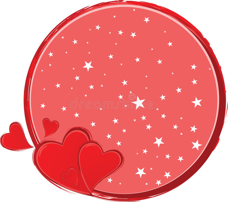 Valentine Day Greeting Card Royalty Free Stock Photos