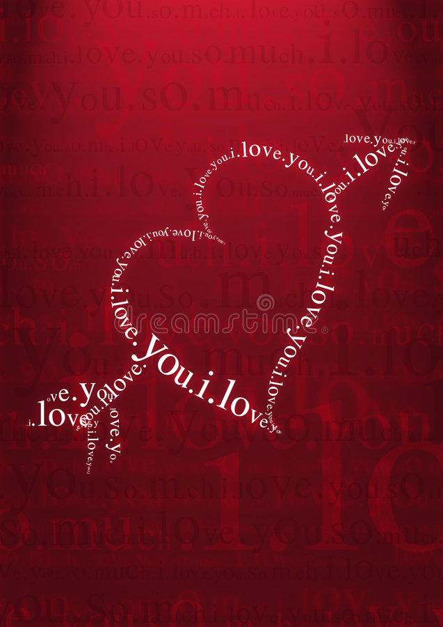 Download Valentine Day Heart Greeting Stock Illustration - Image: 1667792