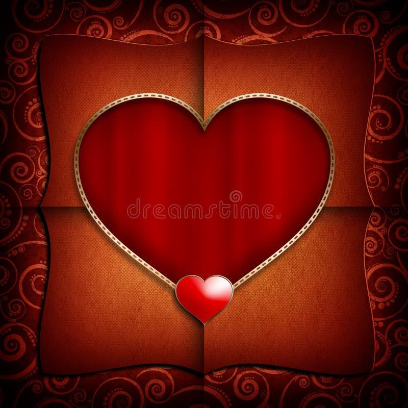 Valentine Day-Hintergrundschablone vektor abbildung