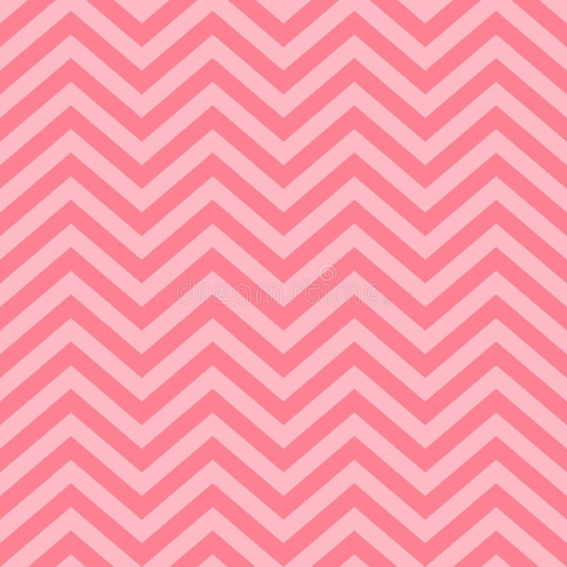 Valentine Day Pink Geometric Seamless bakgrund, modell, textur för att rappa papper, kort, inbjudan, baner och decorati vektor illustrationer
