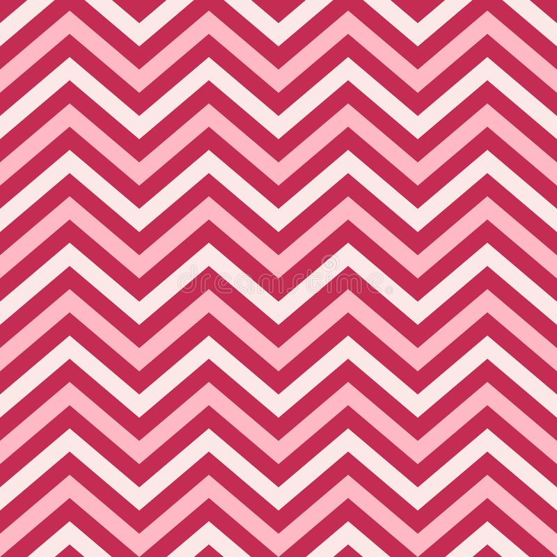 Valentine Day Pink Geometric Seamless bakgrund, modell, textur för att rappa papper, kort, inbjudan, baner och decorati royaltyfri illustrationer