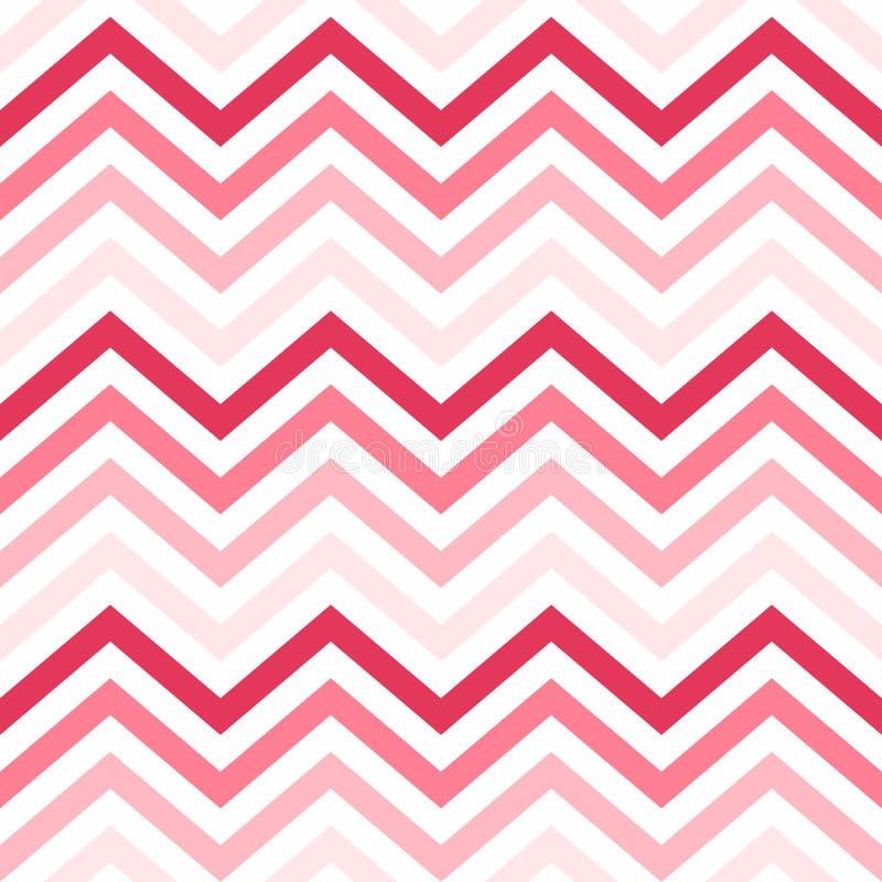 Valentine Day Pink Geometric Seamless bakgrund, modell, textur för att rappa papper, kort, inbjudan, baner och decorati stock illustrationer