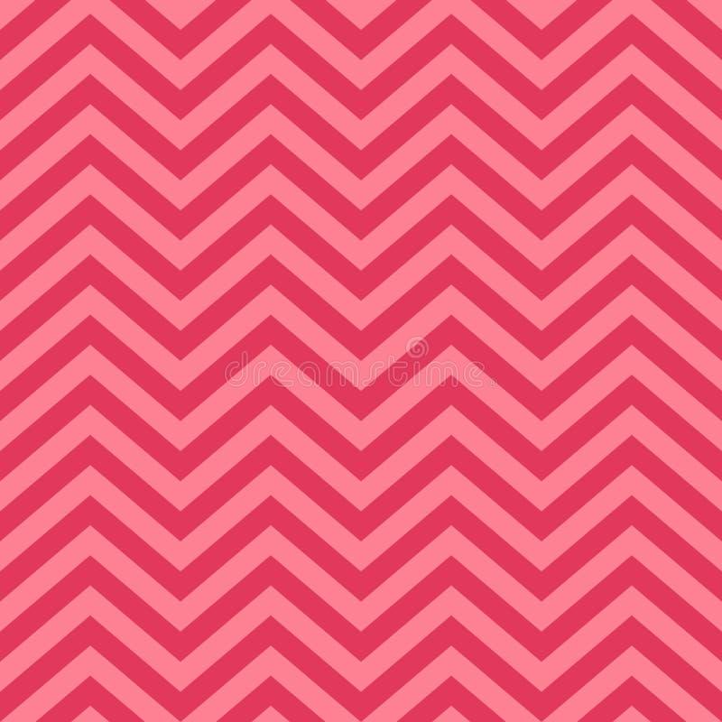 Valentine Day Pink Geometric Seamless bakgrund, modell, textur för att rappa papper, kort, inbjudan, baners vektor illustrationer