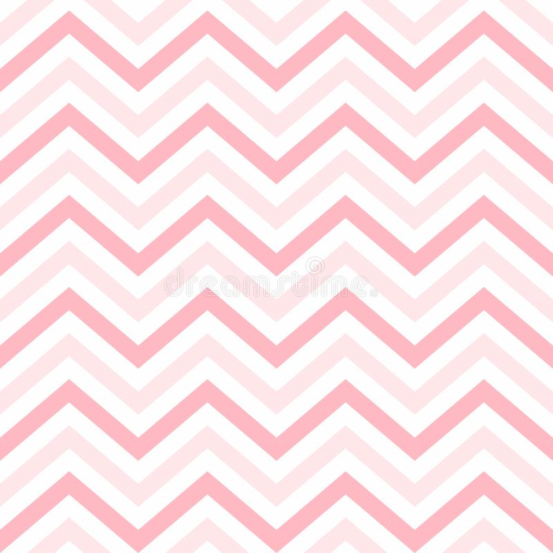 Valentine Day Pink Geometric Seamless bakgrund, modell, textur för att rappa papper, kort, inbjudan, baners royaltyfri illustrationer