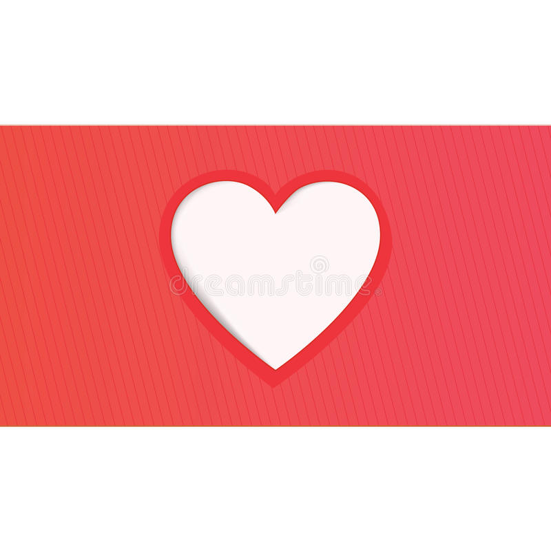 Valentine day's greeting card stock photos