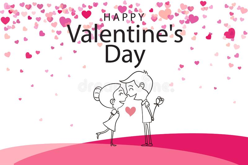 Valentine Day Special Event royalty free illustration