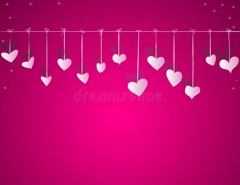 Valentine Day Vector Background Royalty Free Stock Photography