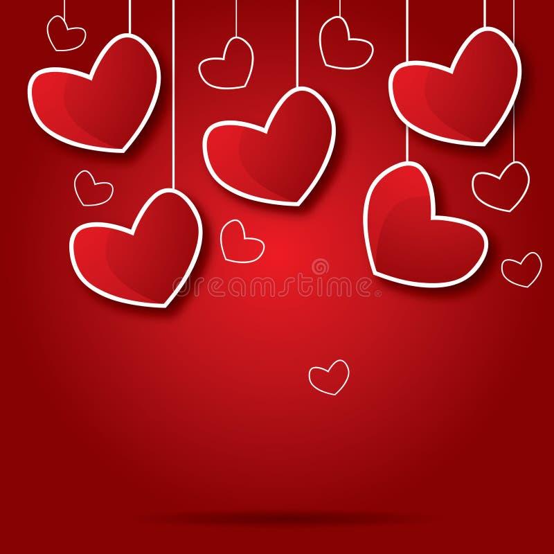 Valentine de coeur illustration stock