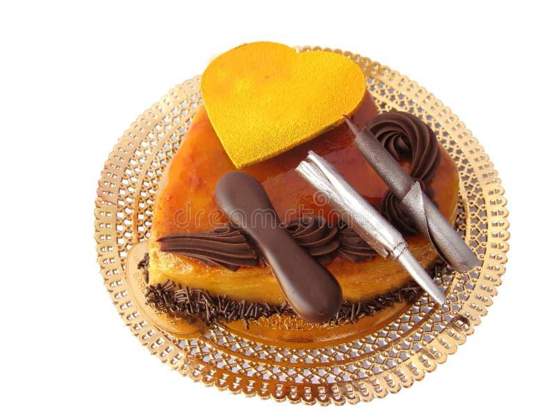 valentine de gâteau photo stock