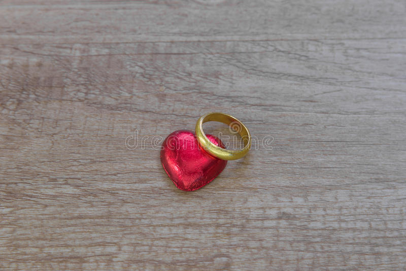 A valentine decoration with chocolate and others stock photos