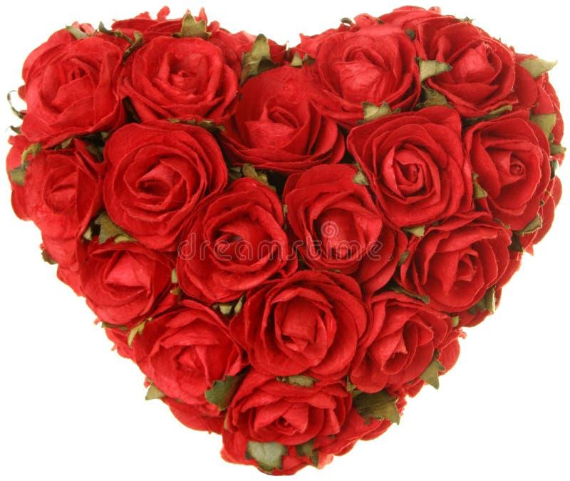 valentine des roses s de coeur de jour de concept photos libres de droits