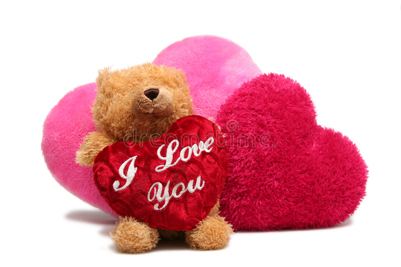 Valentine doux photographie stock