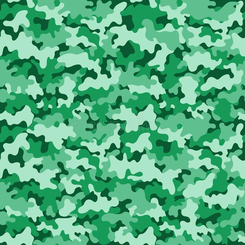 Camouflage Seamless Pattern vector illustration