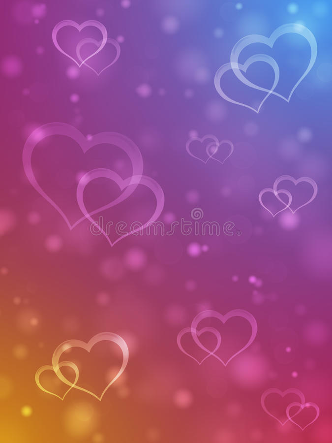 Download Valentine Faerie Background Stock Image - Image of fiery, pink: 28674259