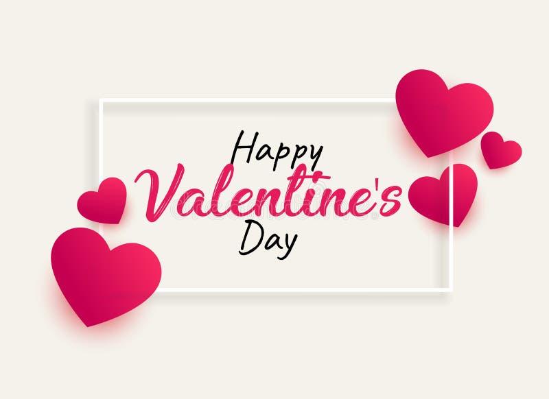 Valentine&#x27 feliz; día de s ilustración del vector