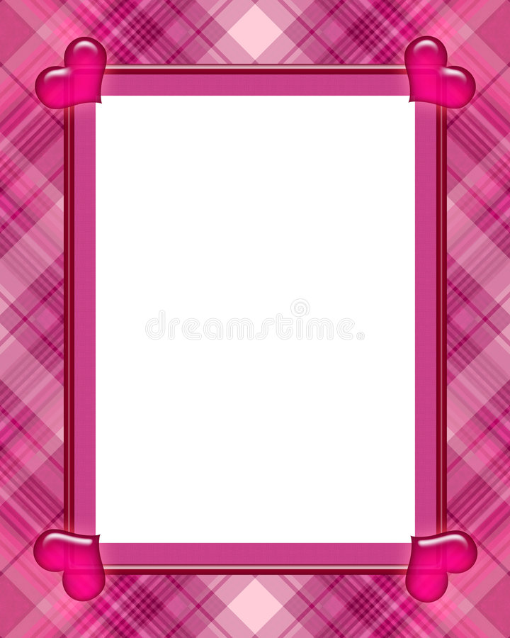 Valentine Frame vector illustration