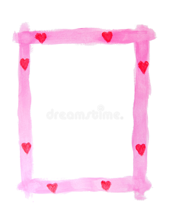 Download Valentine Frame stock image. Image of empty, space, valentines - 7598391