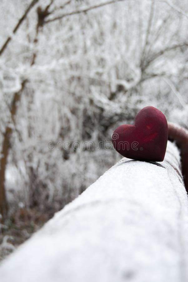 Free Valentine Frozen Heart Royalty Free Stock Images - 104863519