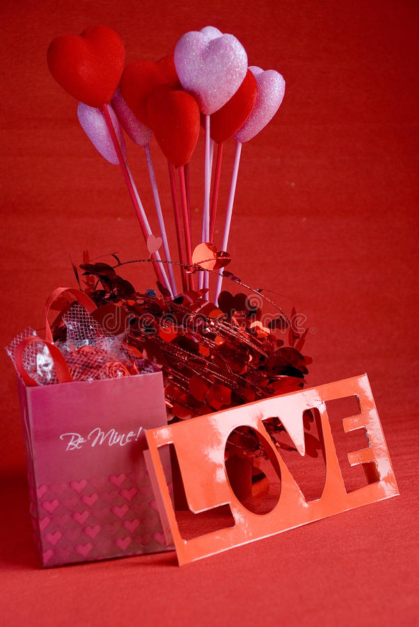 Valentine gift royalty free stock photos