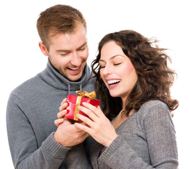 Valentine Gift royaltyfria bilder