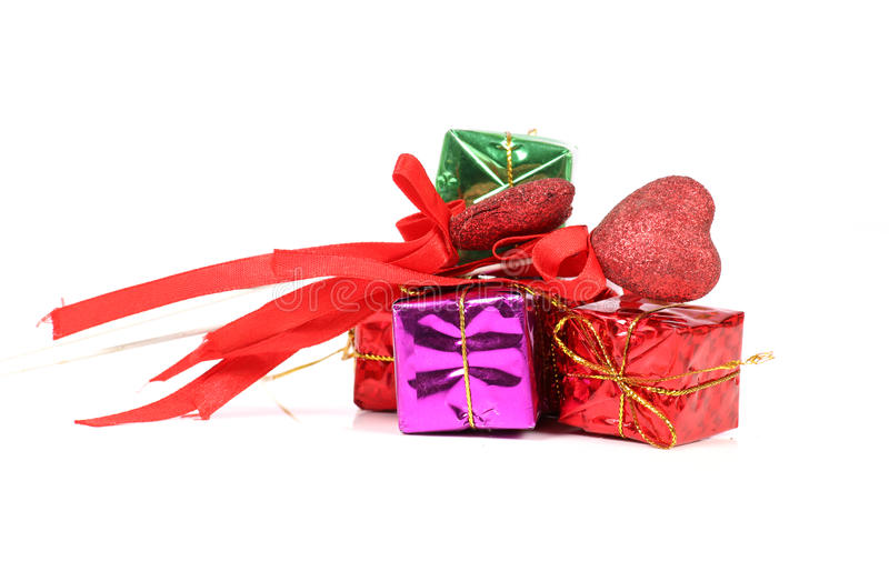 Valentine gifts royalty free stock photos