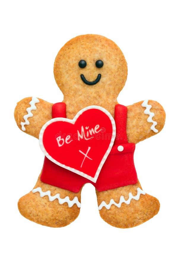 Free Valentine Gingerbread Man Stock Photos - 28684023