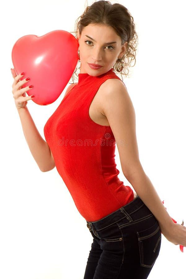 Download Valentine girl stock image. Image of smiling, girl, women - 4102621