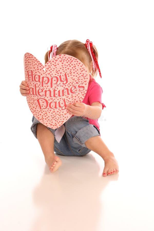 Valentine girl5 photo libre de droits