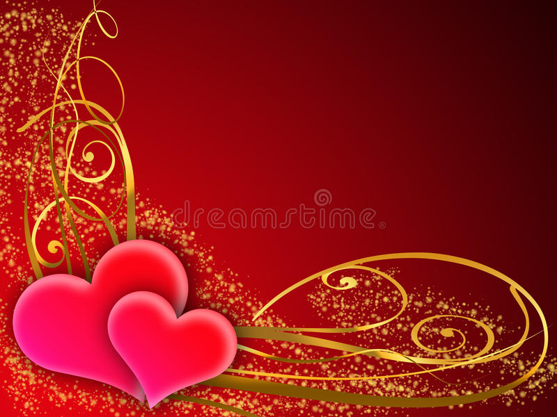 Valentine greeting card stock images