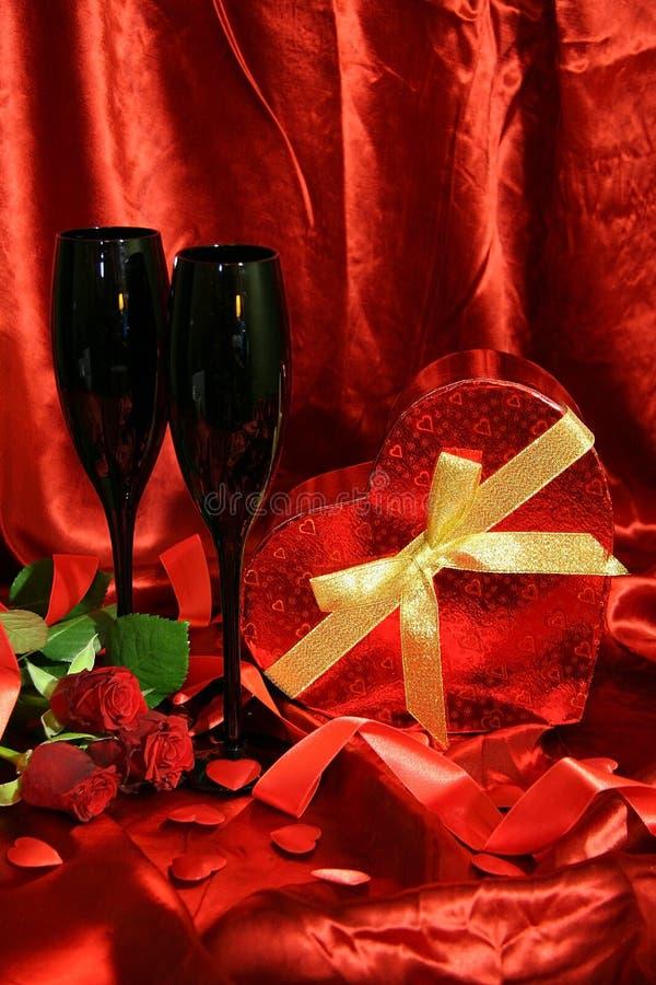 Valentine-grensontwerp royalty-vrije stock fotografie