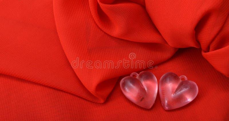 Valentine-hart royalty-vrije stock afbeeldingen