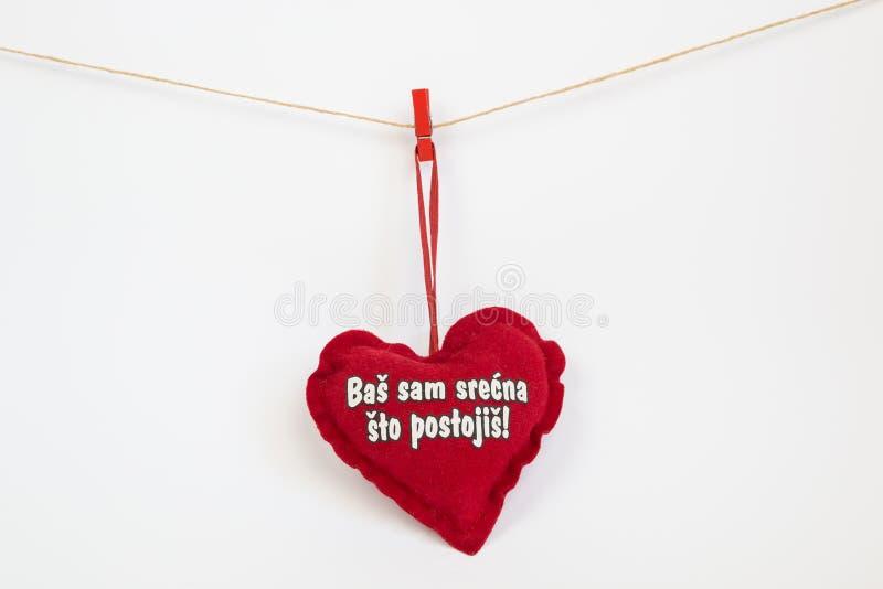 Valentine Heart imagens de stock