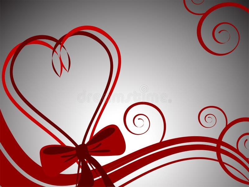 Valentine heart vector illustration
