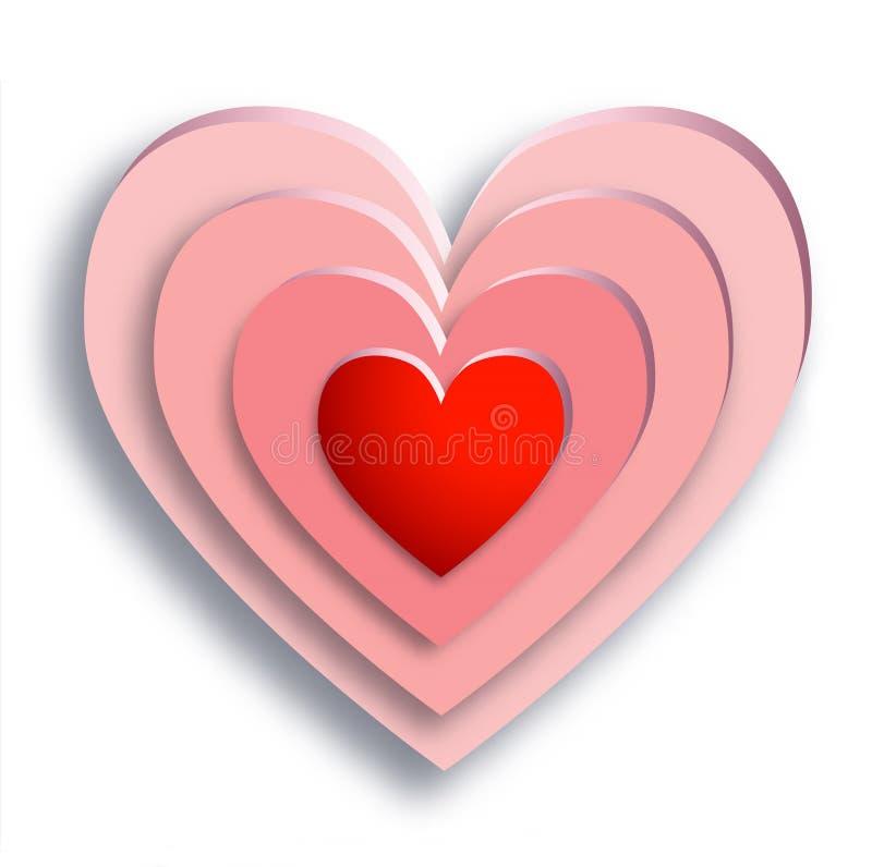 Valentine Heart vektor abbildung