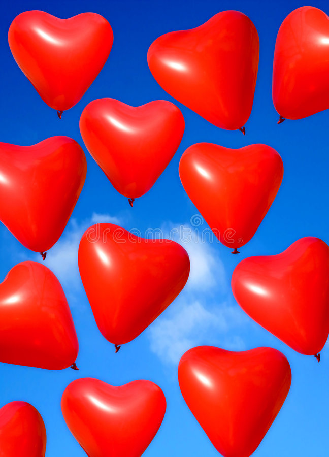 Download Valentine heart stock image. Image of colour, happy, outside - 1722537