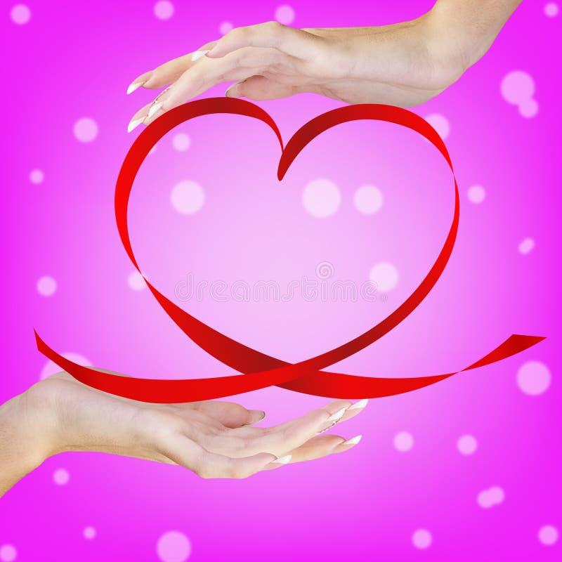 Valentine Heart stock fotografie