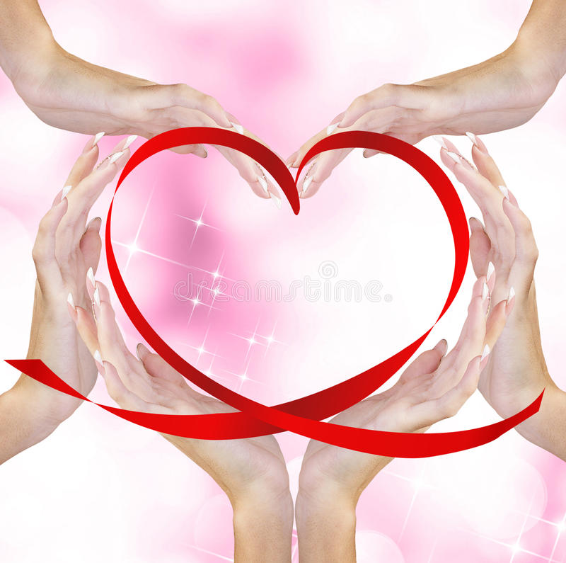 Valentine Heart fotos de stock royalty free