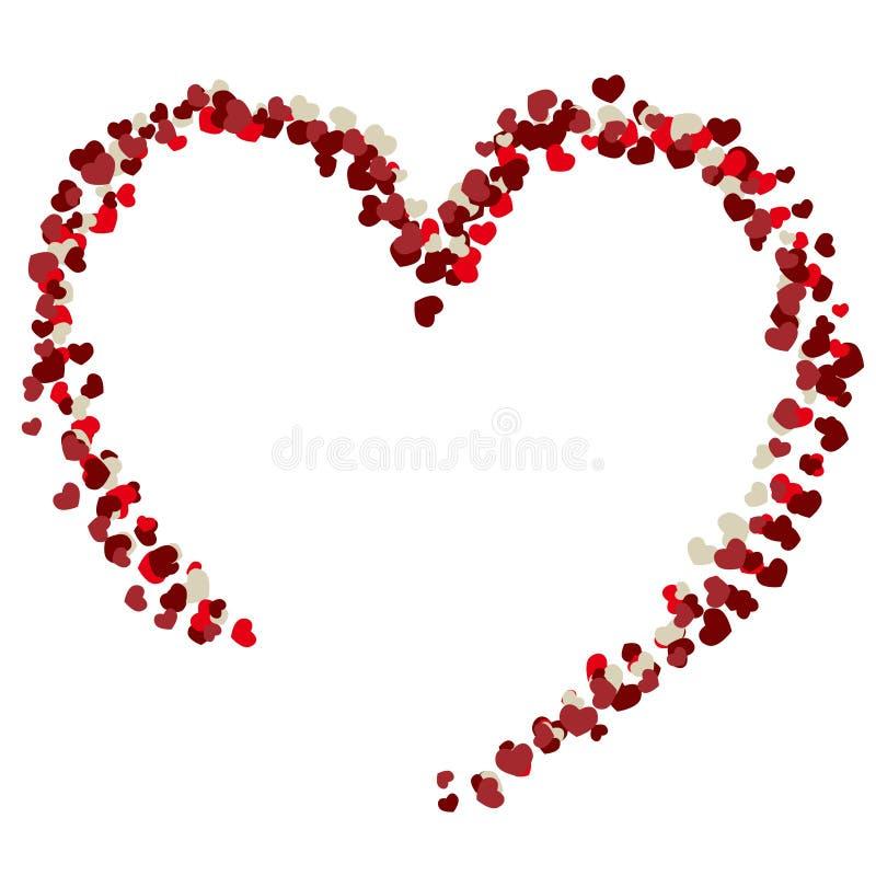 Valentine Heart stock illustrationer