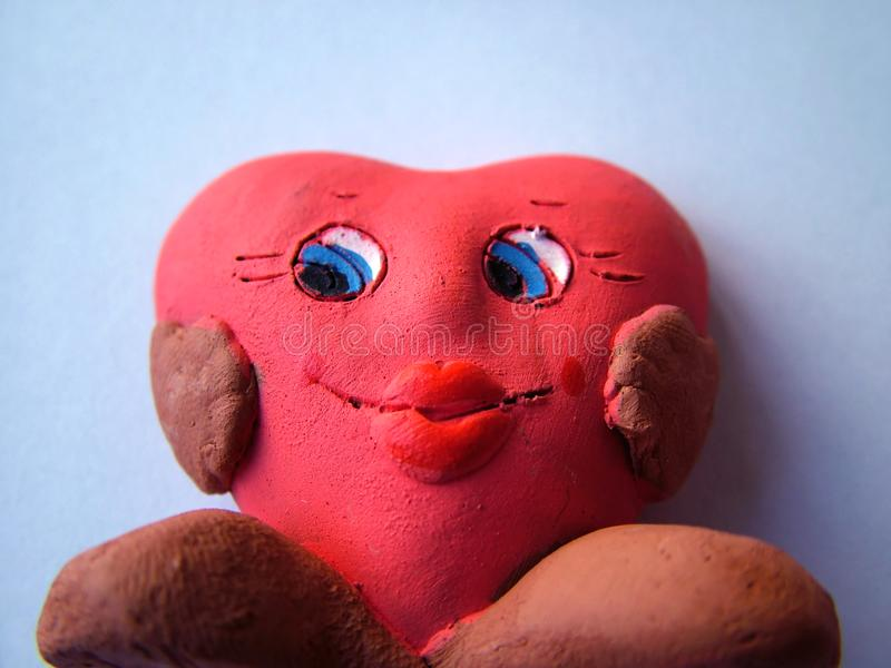 Download Valentine heart stock photo. Image of close, smile, figurines - 65498
