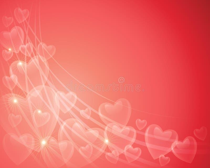 Valentine Heart Background vector illustratie
