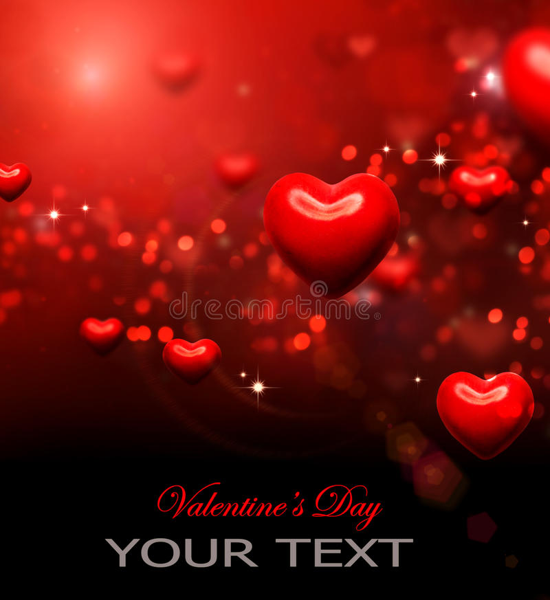 Download Valentine Hearts Background Stock Illustration - Illustration of heart, copy: 28794001
