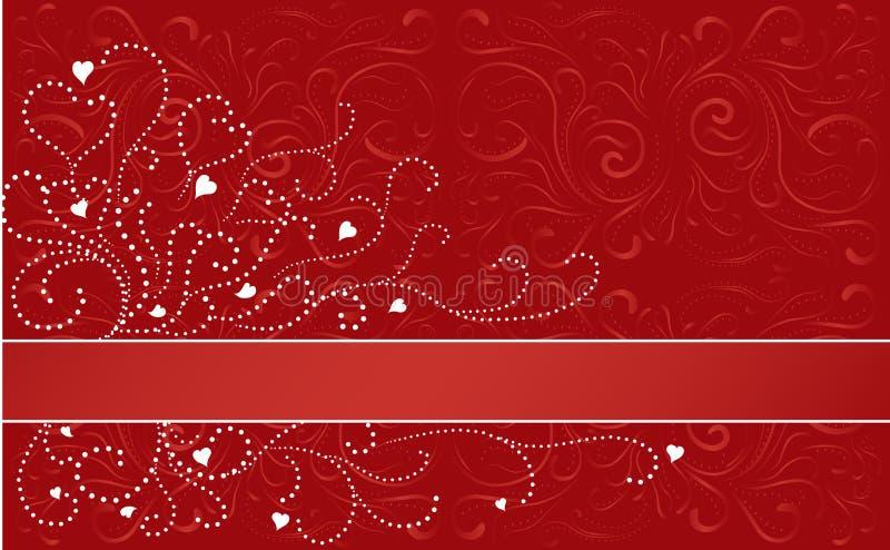 Valentine Horizontal Stripe stock images