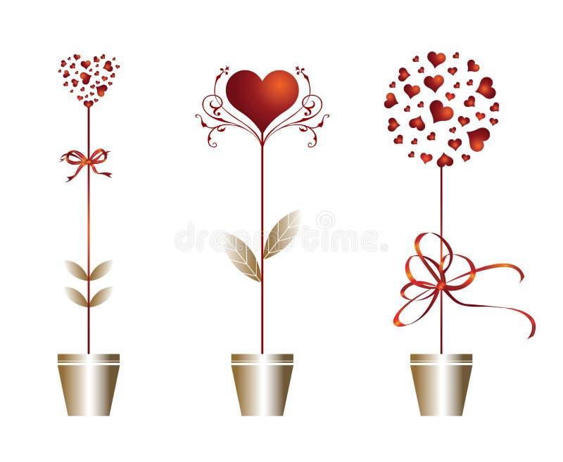 Valentine_illustration illustration de vecteur