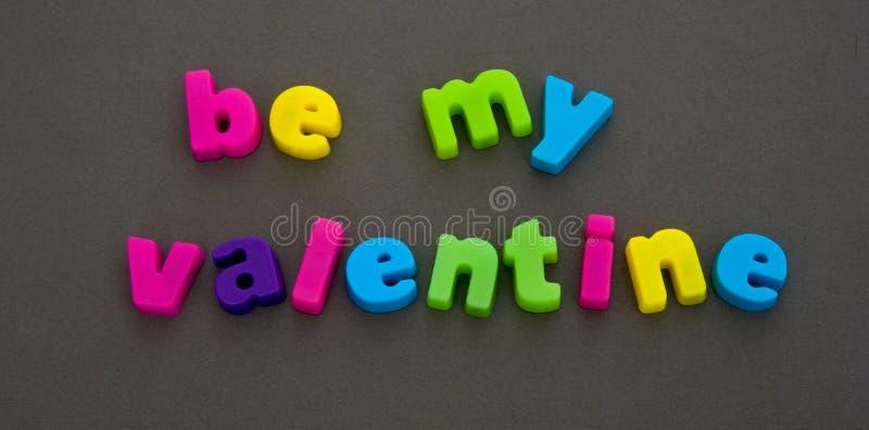 Valentine invitation. stock images