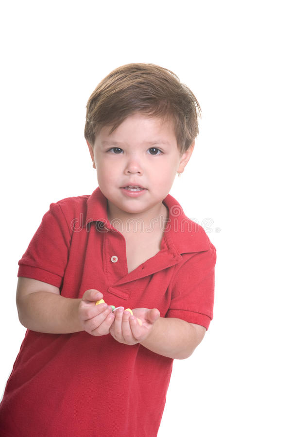 Valentine Kid imagem de stock
