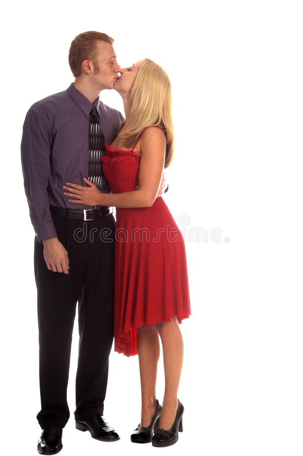 Download Valentine Kiss stock photo. Image of caucasian, couple - 1749174